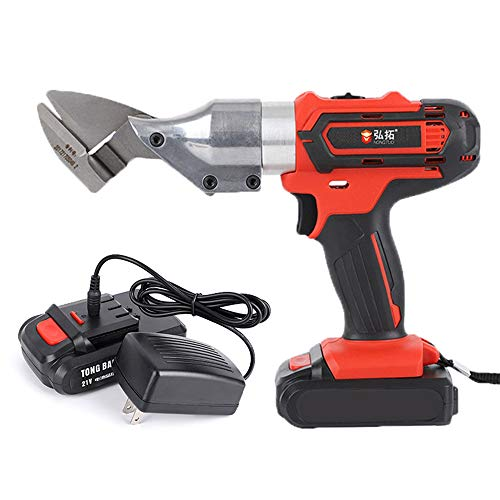 Power Shear Kit - Cordless Shear Kit,Hand-held Lithium Electric Power Scissors, Metal Cutter Kit, With Lithium Detachable Battery,Sharp Blade, Cutting Tool For Metal, Iron Sheet, Carpet.