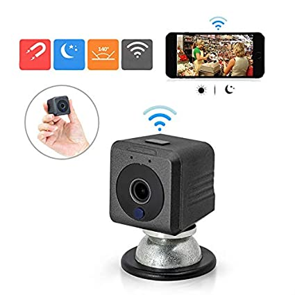 ZEEKEER IDV HD 1080P portátil Mini cámara Oculta con Clip, pequeño Sistema de cámara de