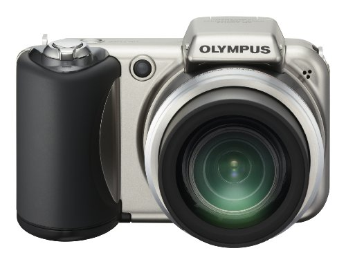 Olympus SP-600UZ 12MP Digital Camera with 15x Wide Angle Dua