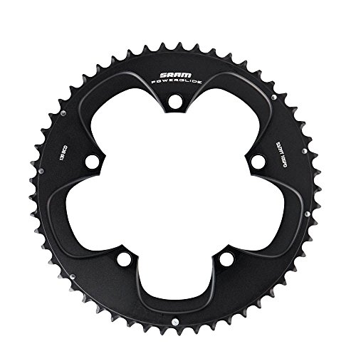 SRAM Force//Rival//Apex 48T 10-Speed 110mm Black Chainring for BB30 Crank