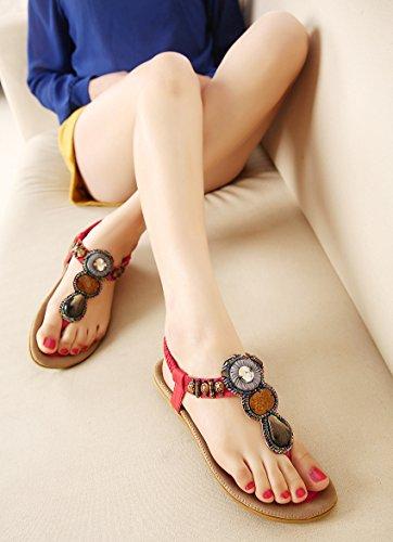 de mujer zapatos de mujer Thirty de Donyyyy zapatos sandalias six Cadena chanclas ax5Wg0ZqRw