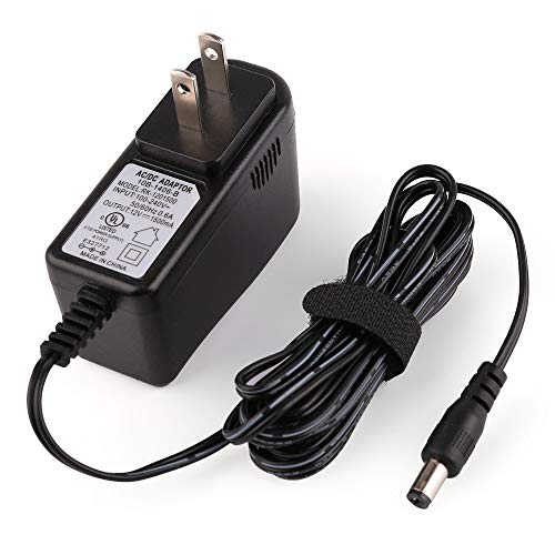 12V Power Adapter, Replacement for Yamaha PA130 PA150, Universal Power Supply Charger Adaptor for Yamaha Keyboard PA PSR YPG YPT DD Series by LotFancy, UL Listed, 8.2Ft Cord ()