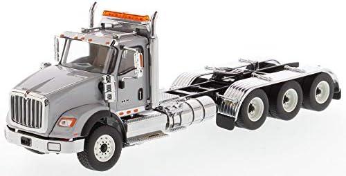 DM71011 1/50 インターナショナル HX620 トラック (8 x 6)((ライトグレー) 塗装済ダイキャストモデル完