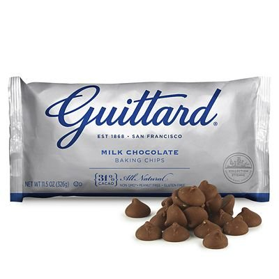 - Guittard Milk Chocolate Maxi Chips, 11.5 Ounce