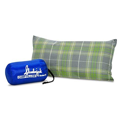 Slumberjack Slumberloft Camp Pillow, Regular (colors may vary) - Slumberjack Camping Pillow
