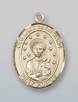 14 ktゴールドO / LのLa Vang Medal B008JL5KUM