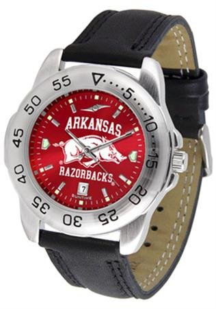Linkswalker Mens Arkansas Razorbacks Sport Anochrome Watch