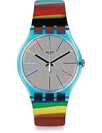 Swatch Women's Originals SUOS106 Multicolor Silicone Quartz Fashion Watch