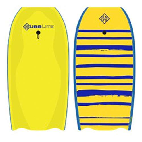 Hubboards Bodyboard Hubb Lite 36 - Yellow/Blue/Yellow