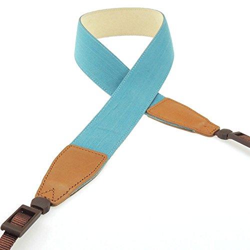 Blue digiETUI Leder and Strap for Casio