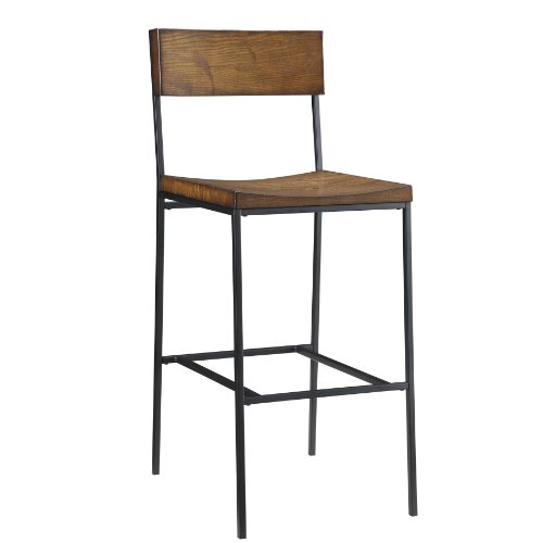 Carolina Chair and Table Durham Bar Stool, Chestnut