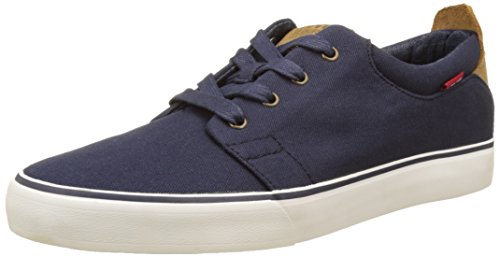 Levi's Blau Dark Justin Blue Sneakers Blau Herren rnfxvr