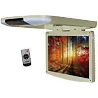 Tview T1588IRTAN 15.4 Wide Screen LED Flip Down Monitor (Tan)