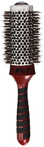 "- HAIRART ITECH Magnetic Tourmaline 2-3/4"" Boar & Nylon Bristle Brush 76400"