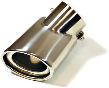 Autohobby 252D Auspuffblende Auspuff Universell Schalldampf Endrohr Blende Edelstahl bis 57mm Chrom A B C G H J CC 3 4 5 6 7