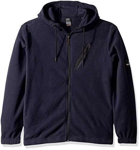 Quiksilver Waterman Men's Deep Sea Hoodie Fleece Sweatshirt, Parisian Night, L