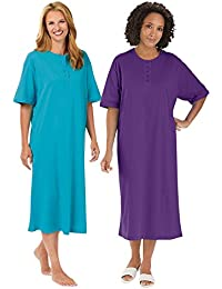 Henley Nightshirts Set of 2