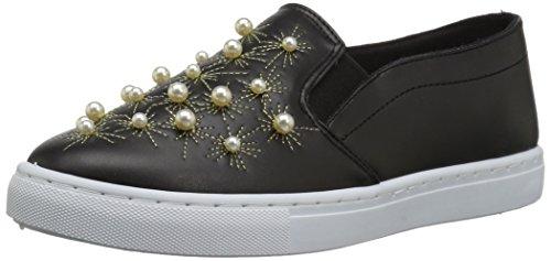 Sneaker Nera Di Moira-08a Delle Donne Di Qupid