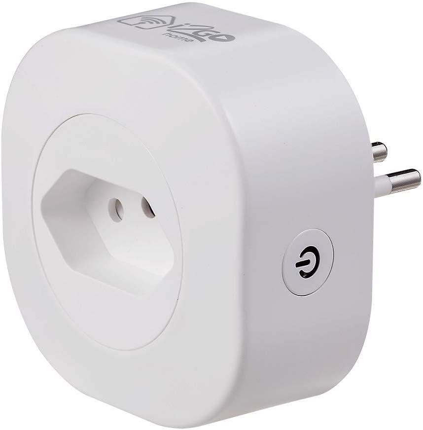 Tomada Inteligente Wi-Fi 10A I2GO Home - Ligue ou Desligue Seus Eletrodomésticos Através do Celular - Compatível com Alexa por I2GO