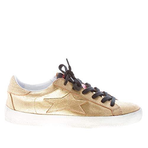 Oro Donna Ishikawa Pelle Bassa In Sneaker Laminata PT8zZxwYq