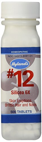 Hylands Silicea Tablets Natural Eruptions product image