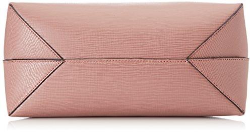 Trussardi Jeans 75b00030-1y000056, Borsa a Mano Donna, 33x38x15 cm (W x H x L) Rosa (Old Pink)