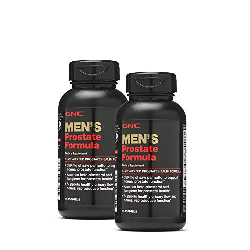 GNC Mens Prostate Formula - Twin Pack (The Best Prostate Formula)