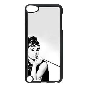 iPod Touch 5 Phone Cases Black Audrey Hepburn BGU269104