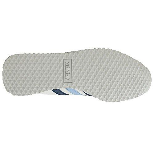 Adidas Vs Jog - Aq1351 Vit-blå-marinblått