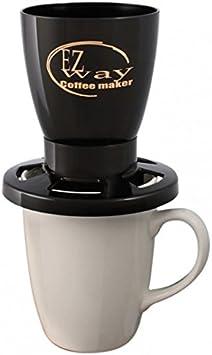 EZ Way cafetera eléctrica, color negro: Amazon.es: Hogar