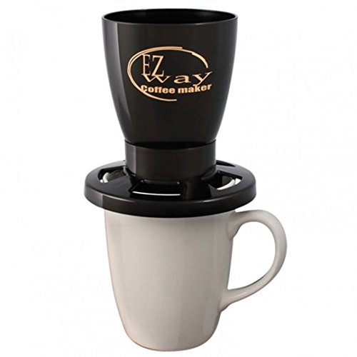 EZ Way Coffee Maker, Black