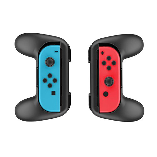 2 Handles Joy-Con Controllers Game Accessories Left & Right for Nintendo Switch Joy-Con (Black) For Sale