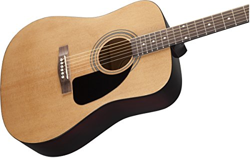 Fender FA-100 Dreadnought Acoustic Guitar with Gig Bag - Natural - Image 3