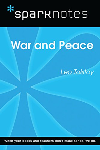 War and Peace (SparkNotes Literature Guide) (SparkNotes Literature Guide Series) (Peace Note)