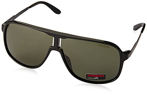 Carrera New Safari GTN Matte Black New Safari Aviator Sunglasses Lens - New Sunglasses 2017