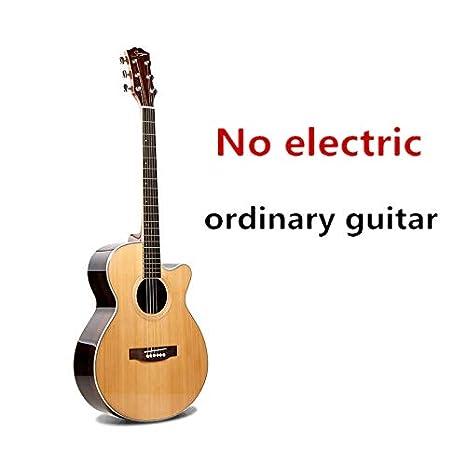Guitarra de cuerpo en A de 40 pulgadas, 6 cuerdas, guitarra de ...