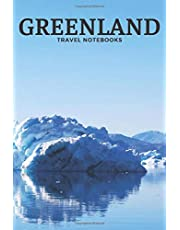 Greenland: Travel Notebook, Journal, Diary (110 Lined Pages, 6 x 9)