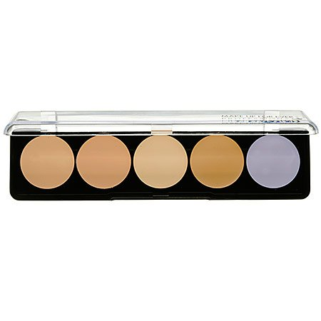 Make Up For Ever 5 Camouflage Cream Palette - #2 (Asian Complexions) 10g/0.35oz by Make Up For Ever (Image #2)