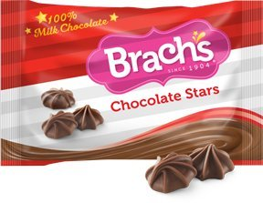 Brach's Chocolate Stars - 2 - Chocolate Candy Brachs