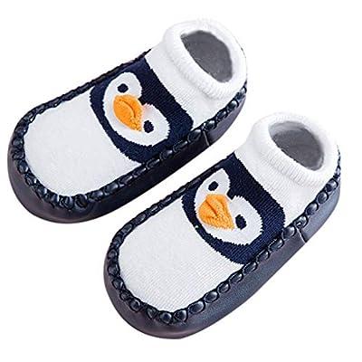 Cute Home Shoes,Tronet Infant Baby Girls Winter Cartoon Animal Home Slipper Anti-Slip Slipper Floor Shoes Socks