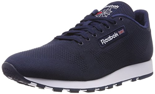 Reebok Classic Leather Ultk, Baskets Homme Gris (Collegiate Navwhite)