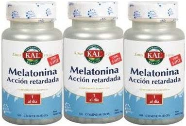 Kal - PACK 2+1 MELATONINA 1,9MG Y 5HTP A. R. KAL