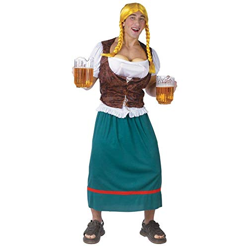 Men's Bavarian Beauty Beer Girl Adult Costume ()
