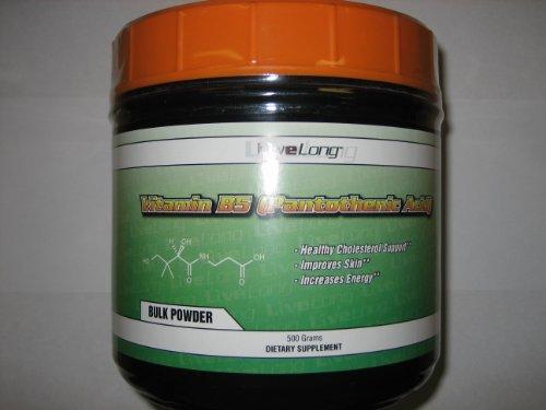 500g vitamine B-5 acide