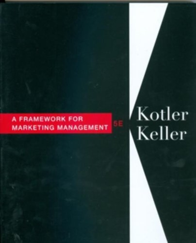 Framework for Marketing Management (5th Edition)