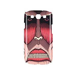 Attack on Titan Face Snap on Plastic Compatible with Diy For LG G2 Case Cover GS3