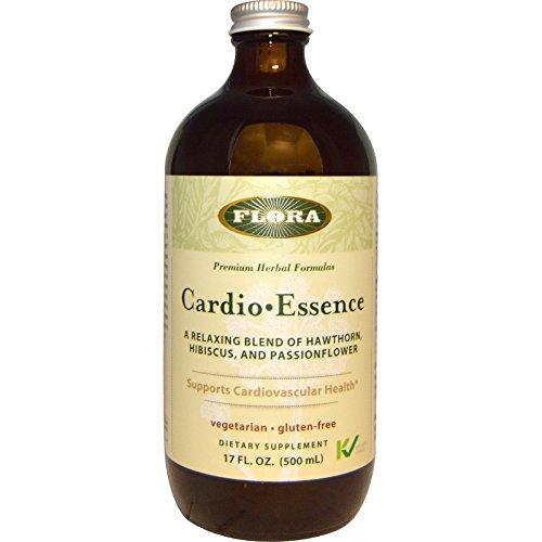 Flora, Cardio•Essence, Gluten-Free, 17 fl oz (500 ml), Vitaminder, Power Shaker Bottle, 20 oz Bottle