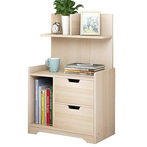 Amazon.com: Bedside table XIAODONG Nordic Fashion with 2 ...