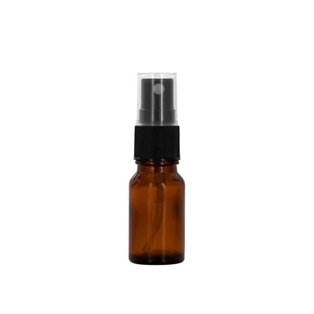 per oli essenziali con spray Geshiglobal da 10//15//20//30//50//100 ml contenitore di vetro ambrato vuoto