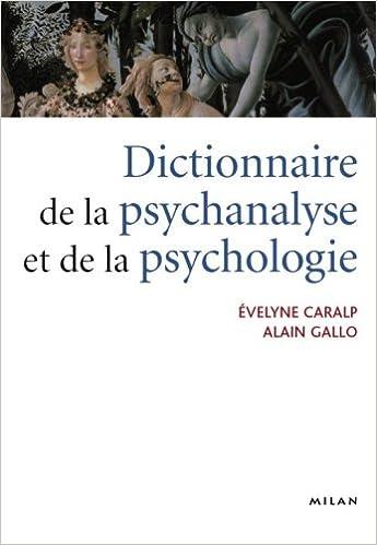 Dictionnaire de la psychanalyse et de la psychologie: Amazon.ca ...